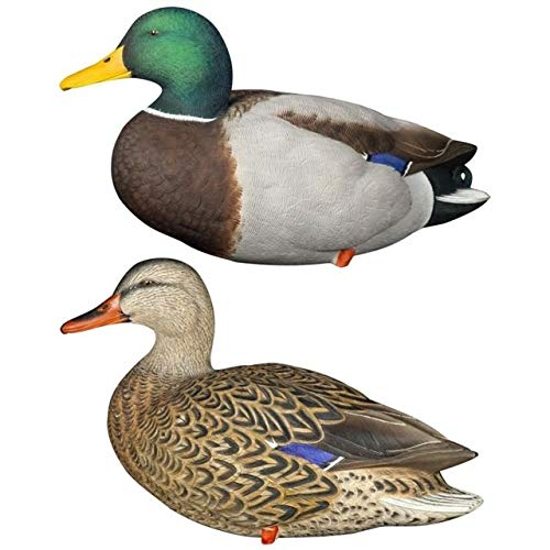 Avian-X Full Body Decoys Mallard 6 PK. Brown