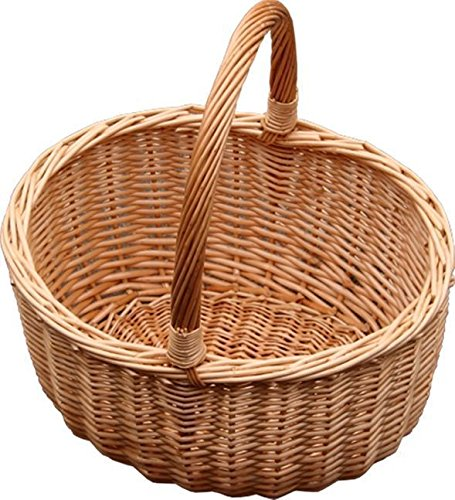 Jumbo Buff Hollander Shopping Basket