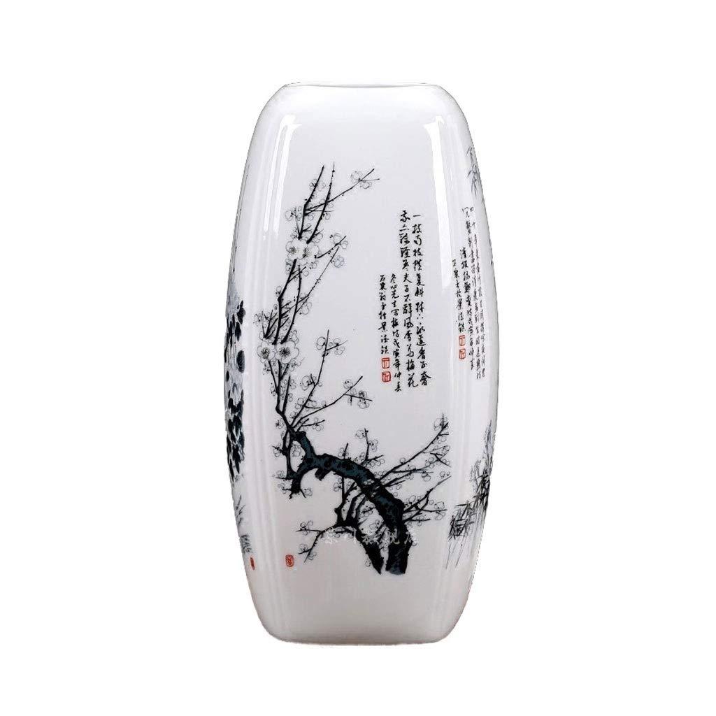 メイラン朱Ju四小さな花瓶セラミック花挿入されたホーム現代のリビングルームのカウンタートップ装飾装飾品 HUXIUPING B07T3YT7RR