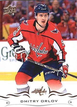 2018-19 Upper Deck  189 Dmitry Orlov Washington Capitals NHL Hockey Trading  Card 8db62cd2078