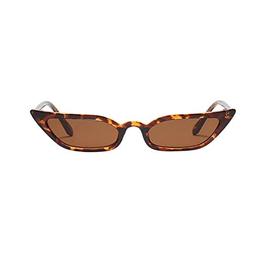 JJLIKER Women Fashion Cat Eye Sunglasses Vintage Retro Small ...
