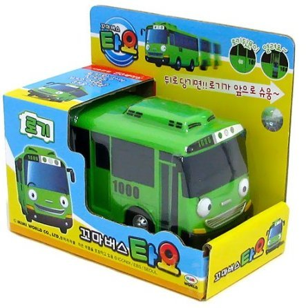 Tayo The Little Bus- ROGI -Korean Made TV Kids Animation Toy [Ship from South Korea] by by Tayo