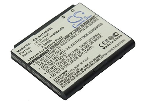 - Cameron-Sino Replacement Battery for Audiovox Mobile, Smartphone 1450M Super Slice, CDM-1450, PCS-1450, PCS1450VM