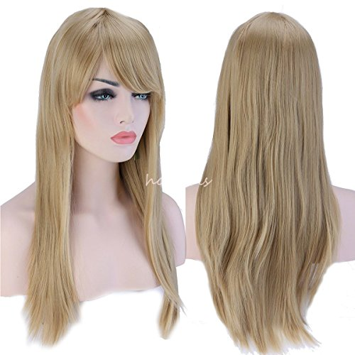 Womenss Medium Straight Blonde Daily product image