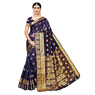 51TtvfyFzgL. SS320 Pisara Women's Cotton Silk Saree