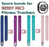 Light Pink Band for TRENDY PRO Fitness Tracker (Light Pink)