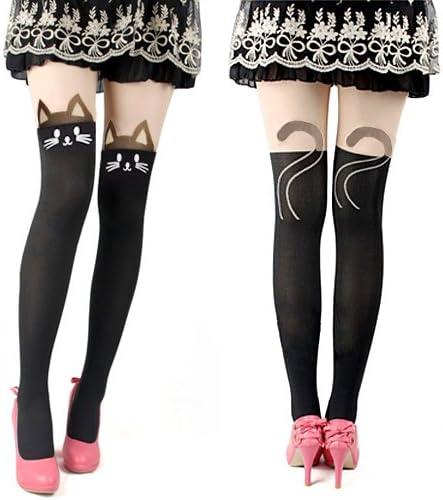 Outdoortips – niñas Sexy Leggings medias tatuaje medias medias ...