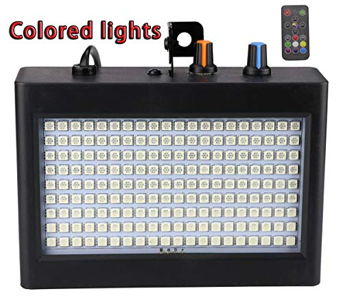 180 LED DJ Lights, Latta Alvor Flashing Stage Strobe Light for Parties Disco DJ Stage Lighting with Auto Sound Activated Remote Control