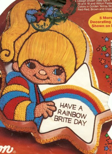 Wilton Rainbow Brite with Star Cake Pan (2105-4798, 1983)