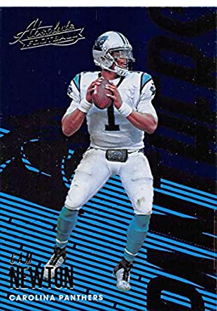 2018 Absolute Football  13 Cam Newton Carolina Panthers Official NFL  Trading Card made by Panini 638672a94