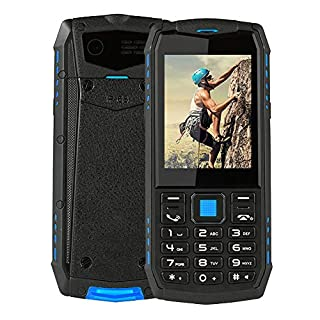 Unlocked Smartphone, 2.8 inch 2700mAh Waterproof Wireless FM Dual Camera 3G Smartphone ,Super Flashlight Cell Phone for The Elderly, Outdoor Sportsmen Workers(US)