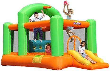 WJSW Castillo Hinchable Castillo Inflable para niños Toboganes ...