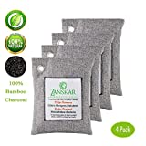 Zanskar Nature Fresh Air Purifying Bag,Bamboo Charcoal Air Purifier Bags,Charcoal Bag for Car Closets,Bathroom and Pet Areas,Car Air Freshener