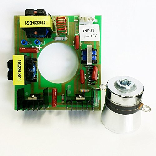 60W 40KHz Ultrasonic Cleaning Transducer Cleaner + Power Driver Board 110V AC Power Board Sheet