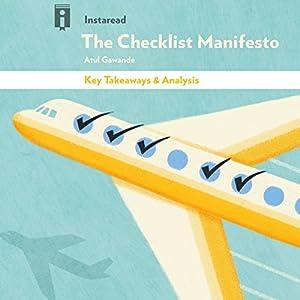 Key Takeaways & Analysis of The Checklist Manifesto Audiobook