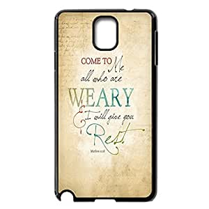 Custom Snap On Hard For HTC One M7 Case Cover Plastic Protective with Bible Verse -Black20742