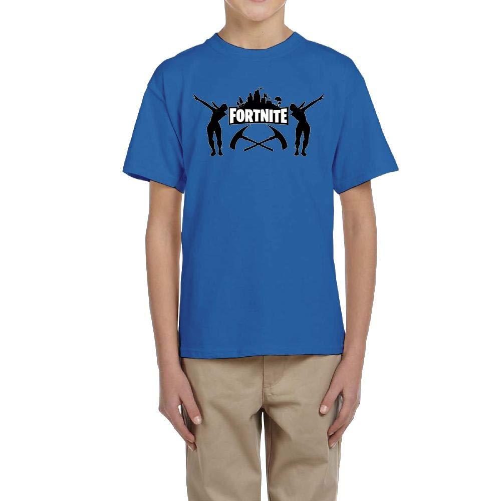Aharyoa Kids Fortnite Classic Floss Dancing Graphic Teens Youth Creative Summer Short Sleeve T Shirt Girls Boys Funny Tee