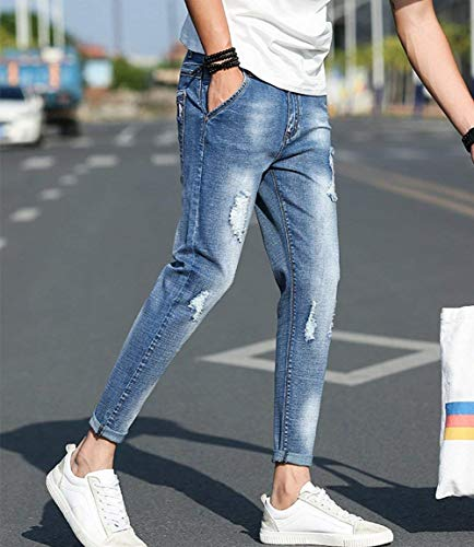 Cargo Jogger Design Utilizzato Slim Uomo Pants Modello Pantaloni Jogging Chino Da Ragazzo Jeans Stretch Fit Classics B BqpwICxxtn