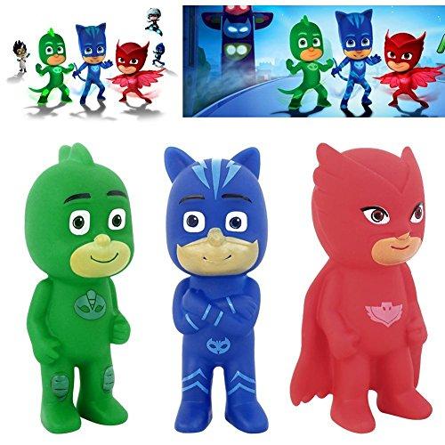 Pj Masks Action Figure Toys Catboy Owlette Gekko Cloak Plastic Vinel Dolls Gift