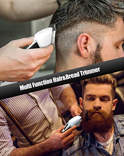 Hair Clipper for Men, Megoal Beard Trimmer Cutter Electric Cordless Shaver Professional Cutting Machine Salon Detail Barber Grooming Kit for Men, Kids