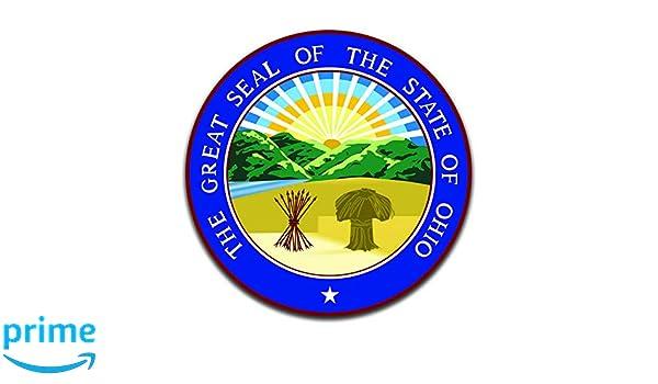 Oregon USA State Seal Car Bumper Sticker Decal 5/'/' x 5/'/'