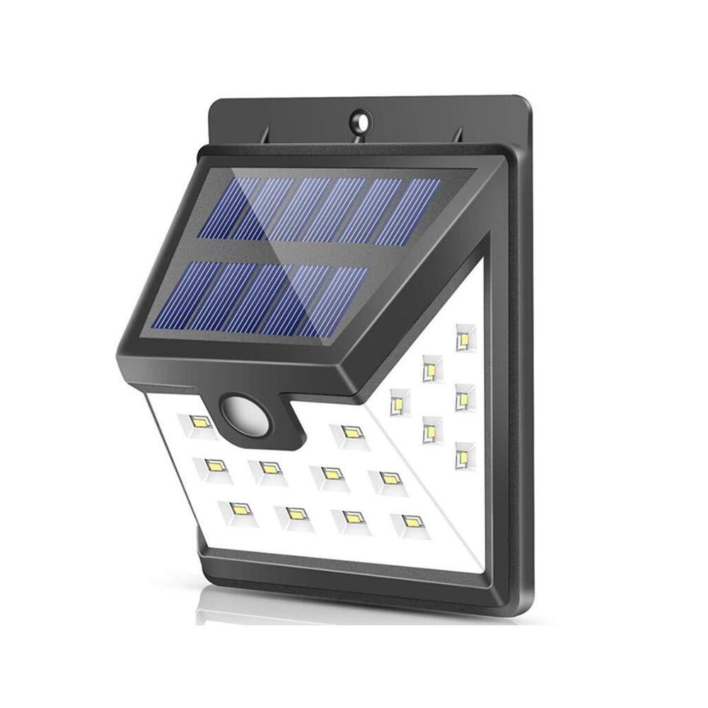 LED Solar Wall Light, 22 LED Outdoor Waterproof Energy Saving Street Yard Path Home Garden Security Lamp Waterproof 3 Modus
