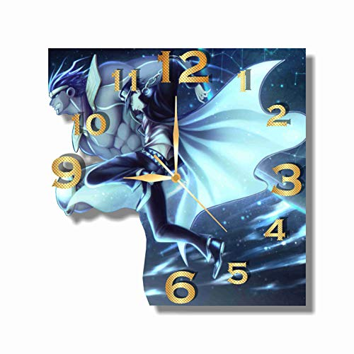 Anime – JoJo s Bizarre Adventure 11.8 Handmade Wall Clock – Get unique d cor for home or office Best gift ideas