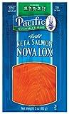 Smoked Salmon Lox Keta 1 Lb Tray Frozen