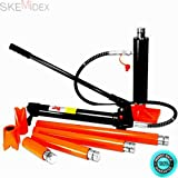 SKEMIDEX---20 Ton Hydraulic Jack Air Pump Lift Porta Power Ram Repair Tool Kit Set And Jack Accessories And Hardware & Construction Equipment