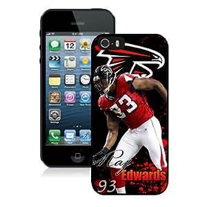 NFL Atlanta Falcons iPhone 5 5S Case 37 NFLIPHONE5SCASE1861 by kobestar