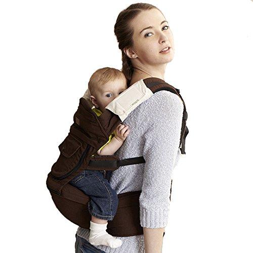 Bebamour Cotton Baby Newborn Carrier Infant Comfort Backpack Sling