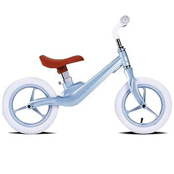 Bicicleta sin pedales Bici Niños pequeños Bicicletas de Equilibrio para bebés para niños, niñas Edad