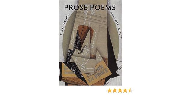 Reverdys Prose Poems: Amazon.es: Padgett, Ron: Libros en ...