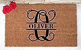 Monogram Doormat - Personalized Door Mat - Custom Welcome Mat - Personalized Welcome Mat - Monogram Door Mat - Custom Doormat - Wedding Gift