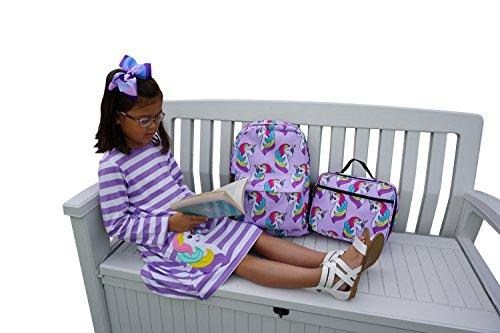 Little Planets Boys Girls All Over Print 16 Kid School Backpack Penguin Set of 3 Lunch Box, backpack Dress Size 10