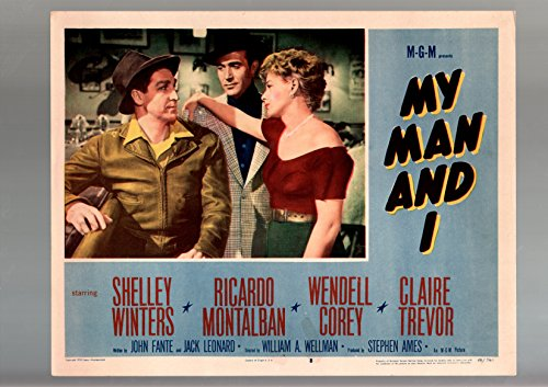 MOVIE POSTER: MY MAN AND I-1959-LOBBY CARD-DRAMA-VF-RICARD MONTALBAN-SHELLEY WINTERS VF (Ricard Poster)