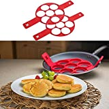 Non-stick Silicone Round Fired Egg Mold Pancake Mold Pancake Maker,Fantastic Pancake Maker