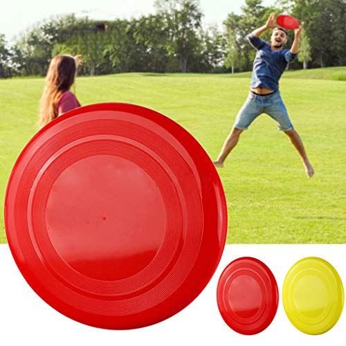 youeneom New Mini Silicone Flying Disc, Catching Outside Game 2.6in Zip Chip Interactive Game Toy, Soft Flying Disks Outdoor Sports Kindergarten Park Toy Great for Kids & Adults (Red)