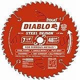 Freud Diablo DO748F Diablo Steel Demon 7 1/4 Inch 48-Tooth Titanium Carbide TCG Ferrous Metal Cutting Circular Saw Blade…