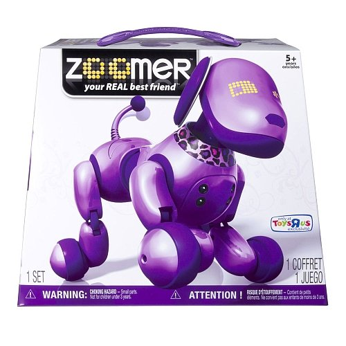 Zoomer Purple by Spin Master (Image #1)