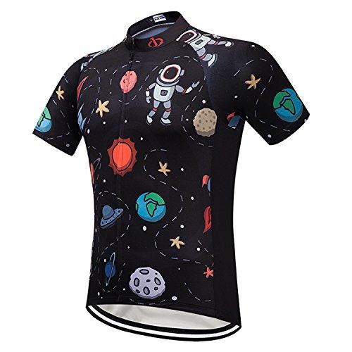 ArmoFit Men's Cycling Jerseys Sport Short Sleeves Bike Shirts Full Zipper Bike Jersey Pocket from ArmoFit