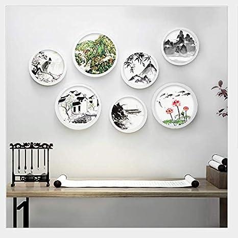 Set De 7 Marcos De Fotos,Gran Circulo,3 Pcs Diámetro 30cm ...