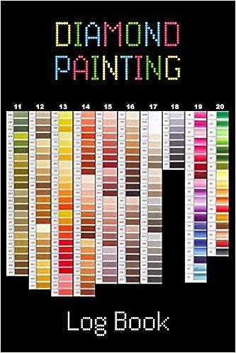 Diamond Painting Log Book Organizer Notebook To Track Dp Art