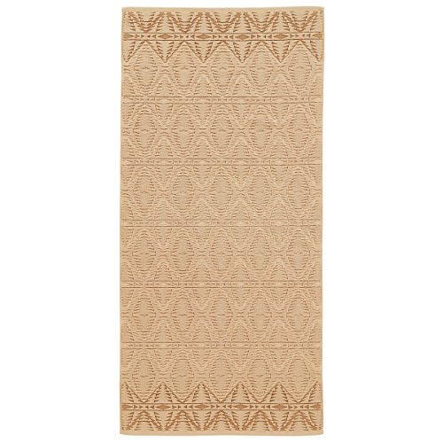 (Pendleton Pecos Sculpted Large Quick Drying Antimicrobial Cotton Bath Towel, Wheat, One Size)