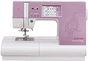 SINGER | Quantum Stylist 9985 Computerized Sewing Machine with 960 Stitches, Drop-In Bobbin System, & Built-In Needle Threader - Sewing Made Easy