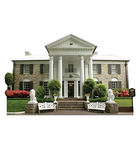 Elvis Presley Graceland Mansion Cardboard Standup
