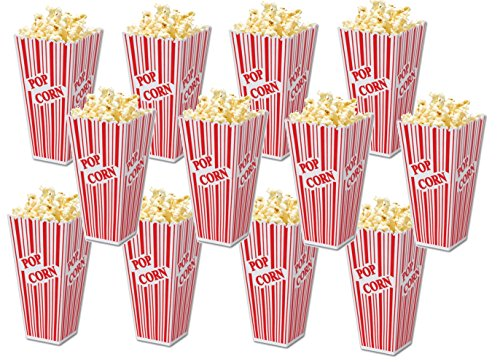 (Family Home Popcorn Plastic Container Box Tub Bowl (Set of 12))