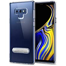 Spigen Ultra Hybrid S Galaxy Note 9 Case with Air Cushion Technology and Magnetic Metal Kickstand for Galaxy Note 9 (2018) - Crystal Clear