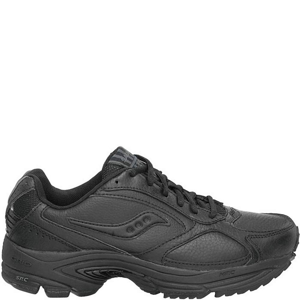 Saucony Women's Grid Omni Walker-W, Black, 10 B-Medium by Saucony