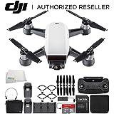 DJI Spark Portable Mini Drone Quadcopter Fly More Combo Bundle (Alpine White)